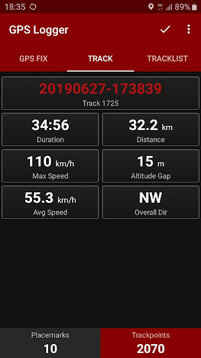 GPS Logger 2.3.1 Screenshots 3