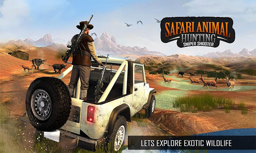 Wild Animal Sniper Deer Hunting Games 2020 1.29 screenshots 4
