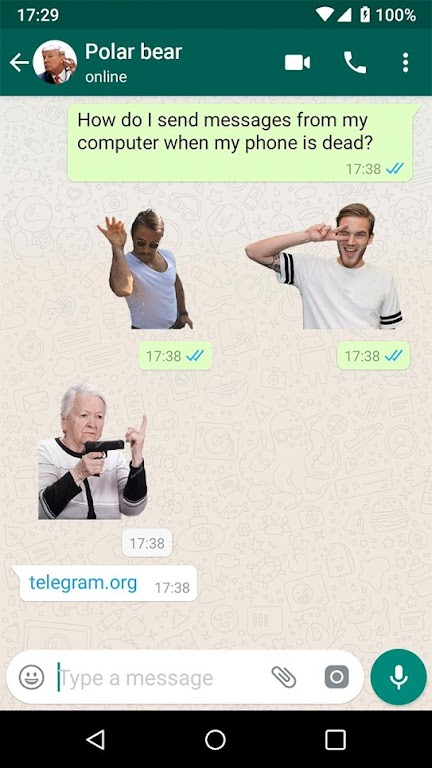 New Stickers For WhatsApp - WAStickerapps Free  poster 0