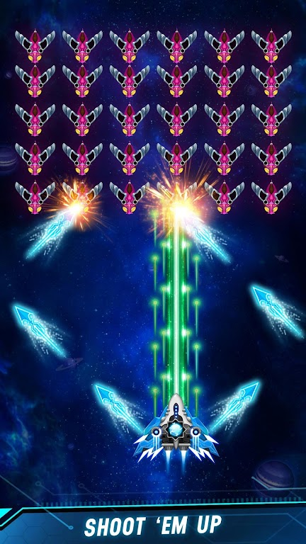 Space shooter - Galaxy attack - Galaxy shooter  poster 12