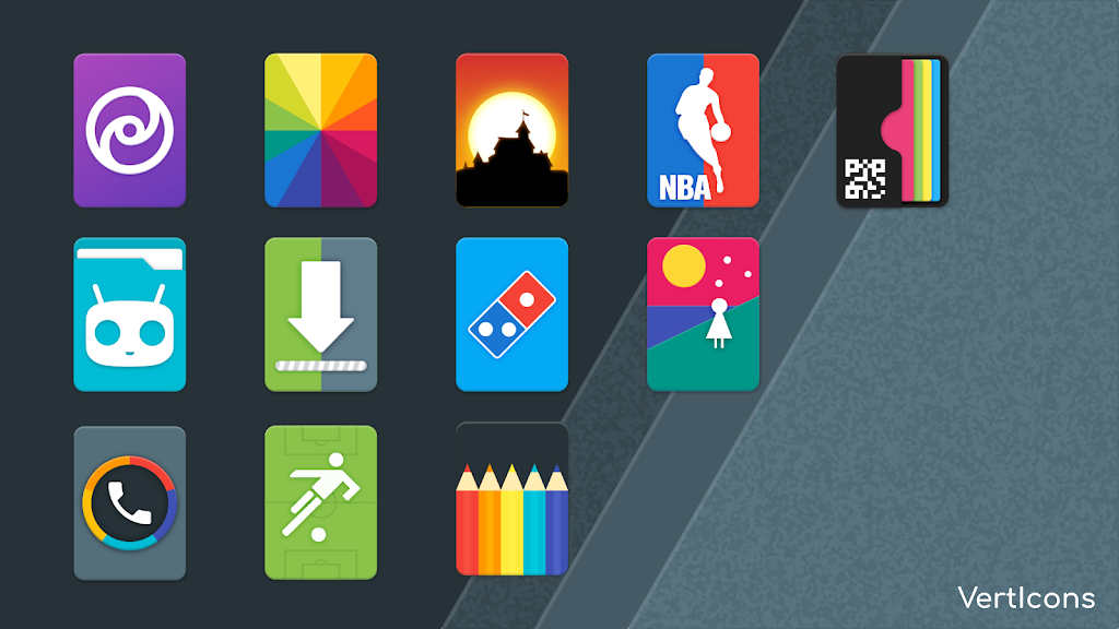 Verticons Icon Pack  poster 6