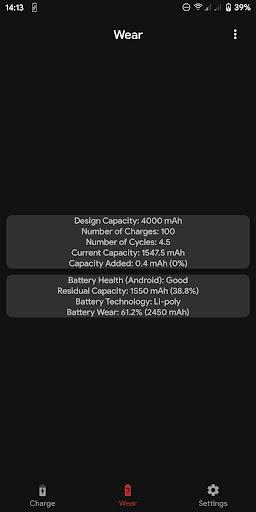Capacity Info: Find out battery wear apktram screenshots 6