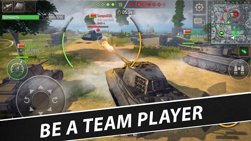 Battle Tanks: Game - Free Tank Games Military PVP  screenshots 14