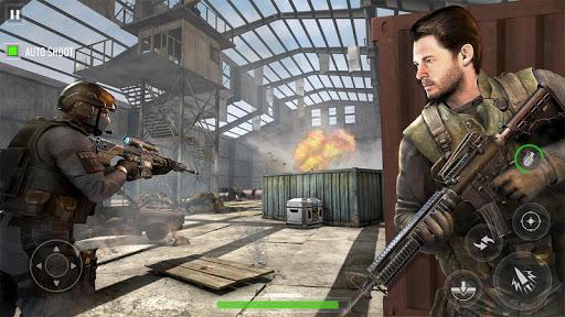 Télécharger Offline Army Commando Sniper 2021 Nouveaux jeux APK MOD (Astuce) screenshots 2