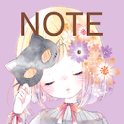 Notepad Flowery Kiss