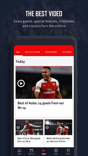 Arsenal Official App 6.0.3 Screenshots 7