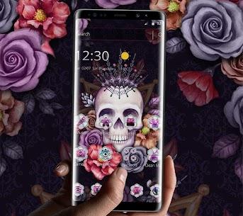 Colorful Flower Skull Fancy Theme 1.1.4 Mod APK (Unlimited) 3
