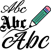Free Fonts - outline fonts and write calligraphy