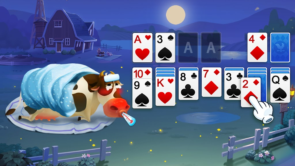 Solitaire - My Farm Friends poster 3