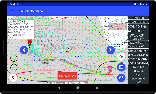 SailGrib for Virtual Regatta  Screenshots 15