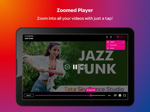 Tata Sky Mobile- Live TV, Movies, Sports, Recharge screenshots 11