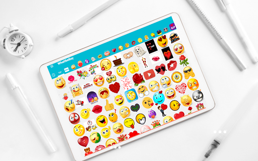WhatSmiley - Smileys, Stickers & WAStickerApps android2mod screenshots 9