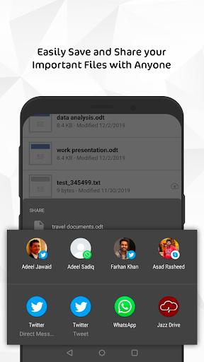 jazz drive - unlimited cloud storage screenshot 3
