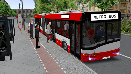 Metro Euro Bus Game 21:City Bus Drive Simulator 21 screenshots 1