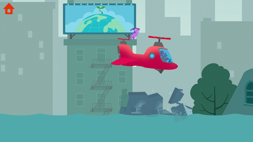 Dinosaur Helicopter - Games for kids  screenshots 1