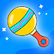 Baby Rattle - Giggles & Lullaby Sounds for infants - Androidアプリ