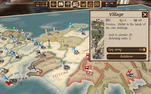 Shogun's Empire: Hex Commander 1.9 Screenshots 11