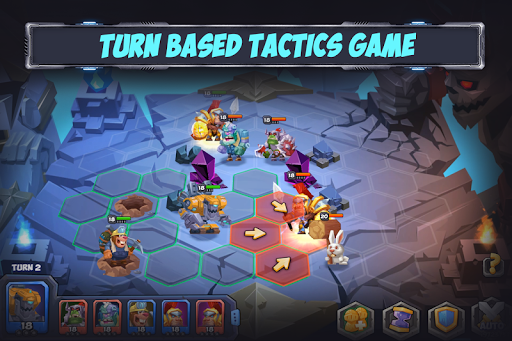 Tactical Monsters Rumble Arena -Tactics & Strategy 1.18.11 screenshots 1