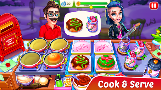 Christmas Fever : Cooking Games Madness 1.0.7 screenshots 7