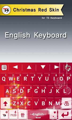 Christmas red for TS keyboard For PC Windows (7, 8, 10, 10X) & Mac Computer Image Number- 6
