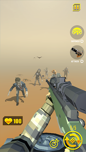 Télécharger zombie shooter: shooting games mod apk screenshots 3