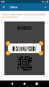 QRbot: QR & barcode reader v2.7.1 [Unlocked] [Mod] 5