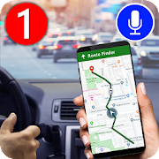 GPS Navigation Route Finder – Map & Speedometer