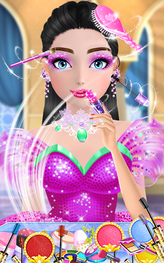 Super fashion model- Makeup & Dress up game  screenshots 7