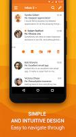 screenshot of Universal Email App