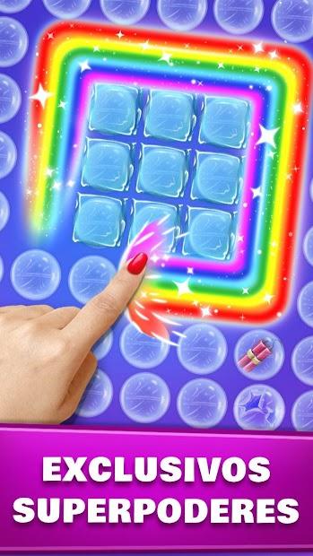 Screenshot 3 de Revienta burbujas - Juego de estallido de burbujas para android
