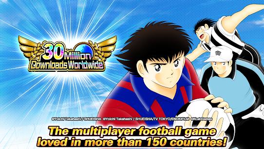Captain Tsubasa : DREAM TEAM 5.0.0 MOD APK [HIGH ATTACK/GOD MOD] 1