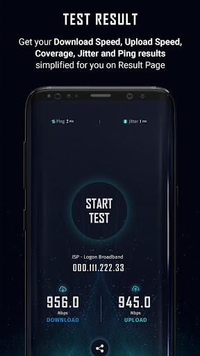 5G Speed Test u2013 Internet Speed Testing Apkfinish screenshots 3