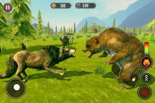 Télécharger simulateur de loup: jeu de jungle sauvage mod apk screenshots 4