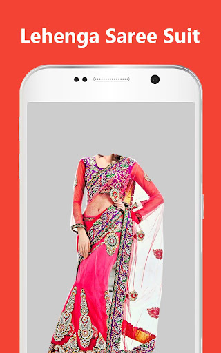 Women Lehenga Saree Photo Suit Editor  screenshots 1