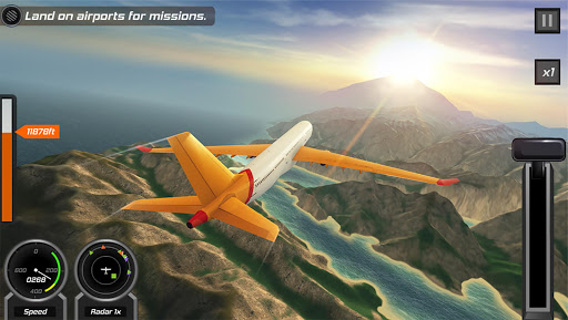 Flight Pilot Simulator 3D Free modavailable screenshots 6