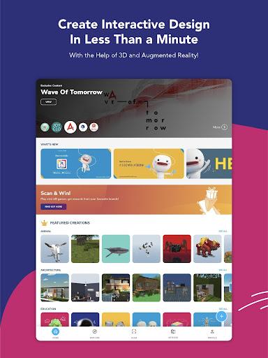 Assemblr - Make 3D, Images & Text, Show in AR! 3.394 Screenshots 9
