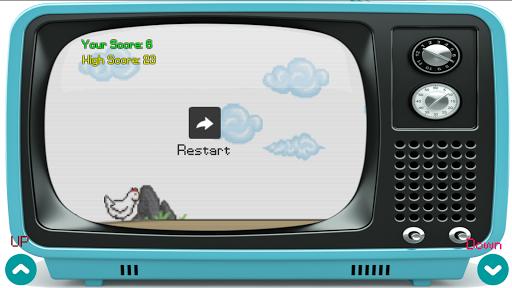 chicken run on old television screenshot 1