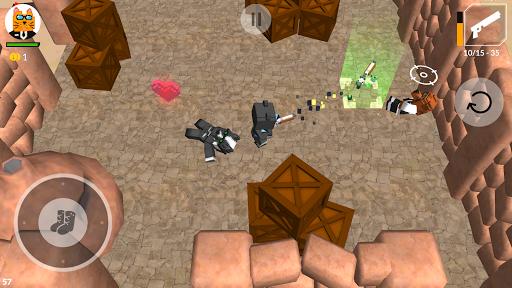 Cats vs Dogs - 3d Top Down Shooter & Pixel War  screenshots 17