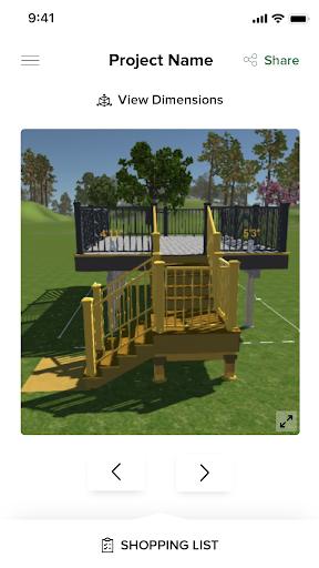 Trex Deck Designer Portal  Screenshots 2