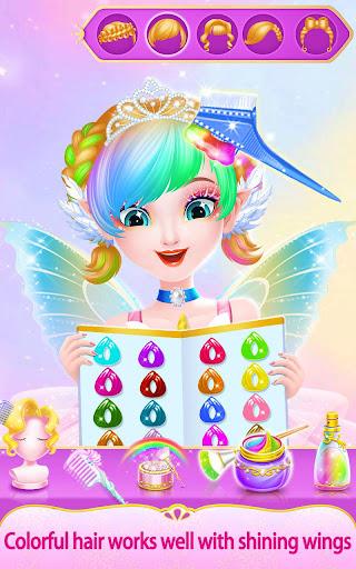 Sweet Princess Fantasy Hair Salon apktram screenshots 5