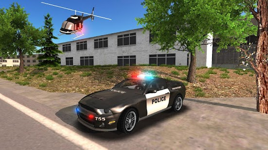 Police Car Driving Offroad Screenshot