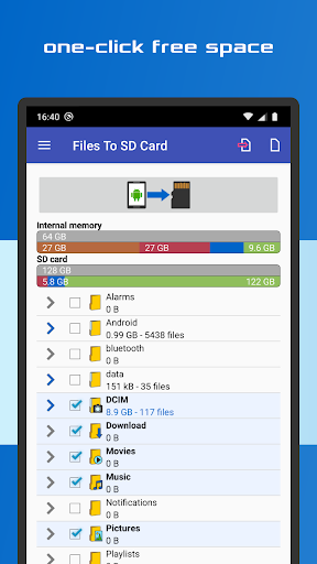 Files To SD Card  screenshots 1