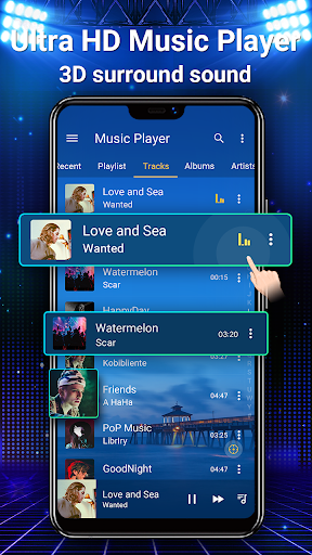 Music Player - MP3, Equalizer android2mod screenshots 3