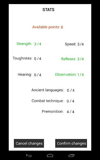 Magium - D&D Inspired Text Adventure RPG (CYOA) 2.06 screenshots 11