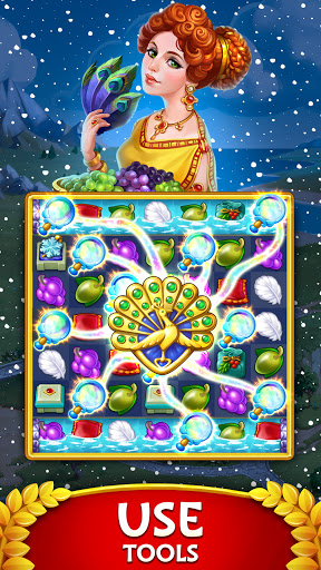 Jewels of Rome: Gems and Jewels Match-3 Puzzle  screenshots 2
