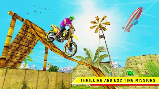 Stunt Bike 3D Race - Bike Racing Games apkpoly screenshots 1