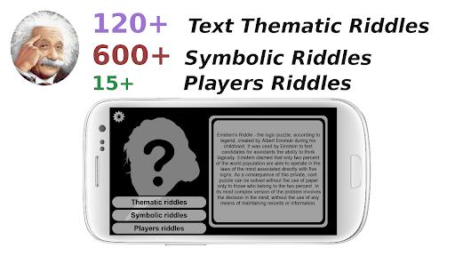 Einstein's Riddles IQ Logic Puzzles apkmartins screenshots 1