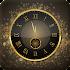 Gold Clock : Analog Clock Live Wallpaper