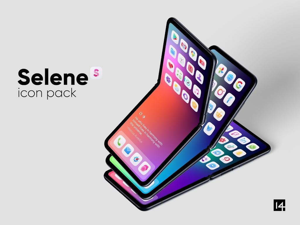 Selene Icon Pack  poster 0