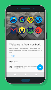 Aron Icon Pack Patched APK 5